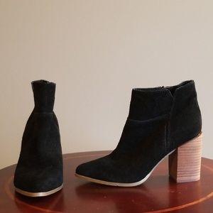 Nine West western style booties